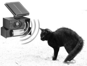 Ultraschall Katzenschreck mit Bewegungsmelder